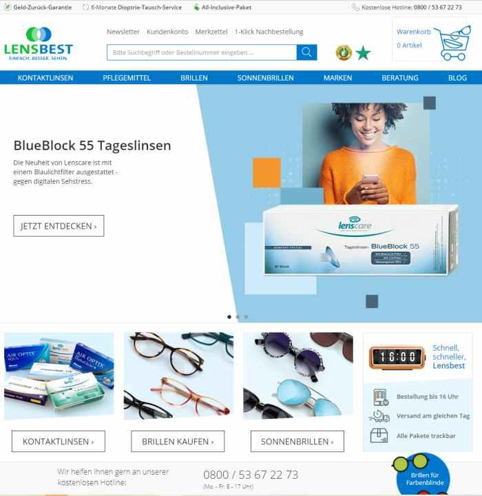 Lensbest - Online Optiker
