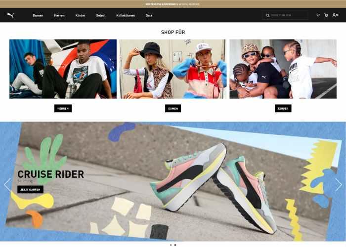 Puma - Schuhe, Bekleidung & Mehr